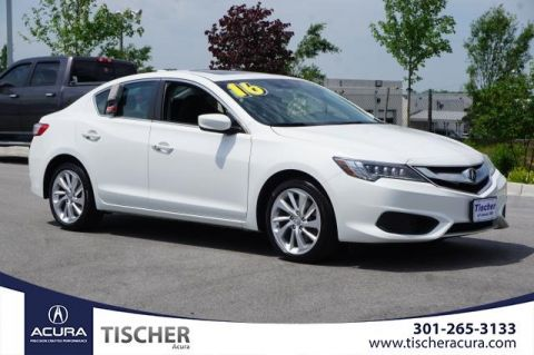 Certified Pre-Owned 2016 Acura ILX with AcuraWatch Plus FWD 4D Sedan