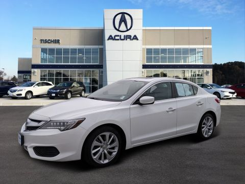 Certified Pre-Owned 2016 Acura ILX with Premium Package Front Wheel Drive 4dr Car