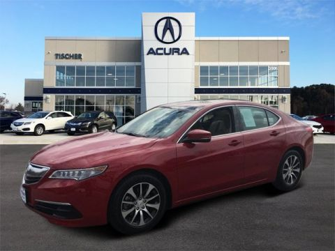 Certified Pre-Owned 2017 Acura TLX 2.4 8-DCT P-AWS FWD 4dr Car