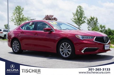 Certified Pre-Owned 2018 Acura TLX 2.4 8-DCT P-AWS FWD 4D Sedan