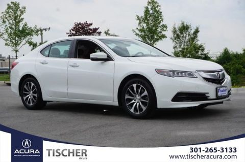 Certified Pre-Owned 2017 Acura TLX 2.4 8-DCT P-AWS with Technology Package FWD 4D Sedan
