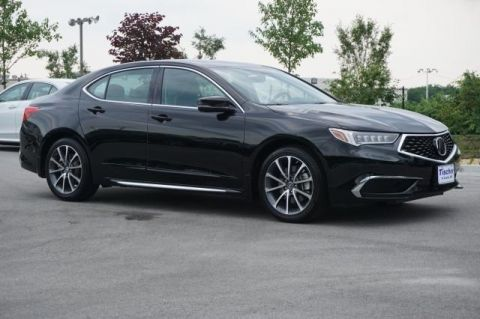 Pre-Owned 2018 Acura TLX 3.5L V6 FWD 4D Sedan