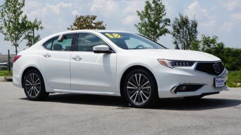 Certified Pre-Owned 2018 Acura TLX 3.5 V-6 9-AT P-AWS with Advance Package FWD 4D Sedan