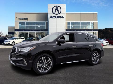 Pre-Owned 2017 Acura MDX Sport Hybrid with Advance Pkg