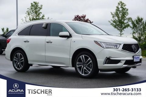 Certified Pre-Owned 2017 Acura MDX Sport Hybrid Sport Hybrid SH-AWD with Advance Package