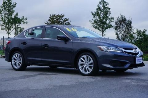 Certified Pre-Owned 2016 Acura ILX with Premium Package FWD 4D Sedan