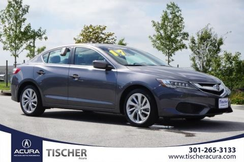 Certified Pre-Owned 2017 Acura ILX with Technology Plus Package FWD 4D Sedan