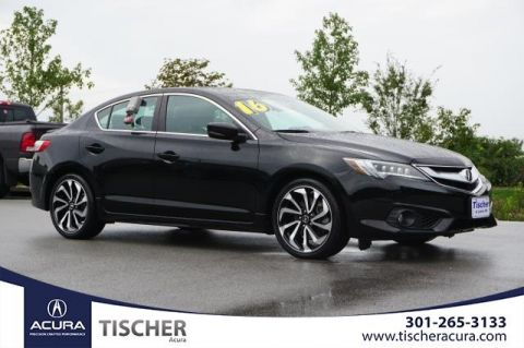 Certified Pre-Owned 2016 Acura ILX with Premium and A-SPEC Package FWD 4D Sedan