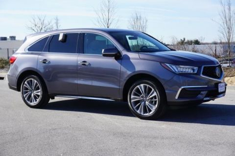 Certified Pre-Owned 2017 Acura MDX with Technology Package FWD 4D Sport Utility