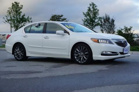 Certified Pre-Owned 2016 Acura RLX with Technology Package FWD 4D Sedan